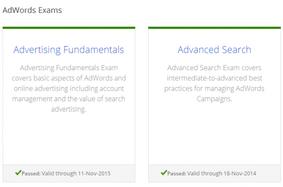 adwords-certification