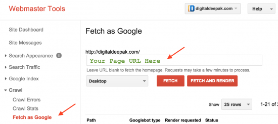 fetch google