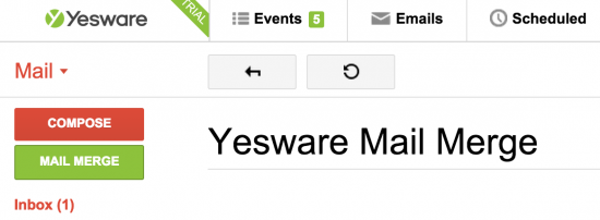 yesware mail merge review
