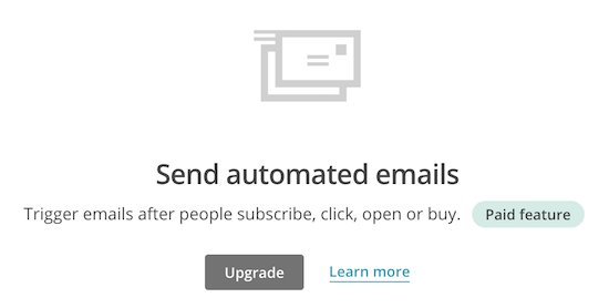 automated emails in drip email marketing