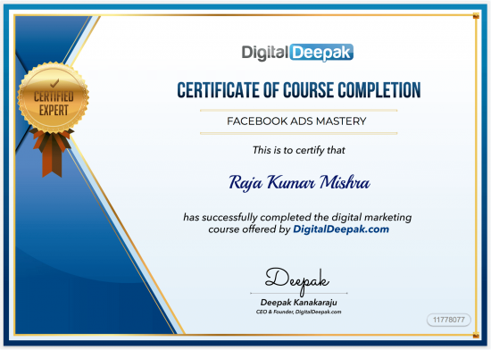 Top 7 Digital Marketing Courses and Training Programs in India