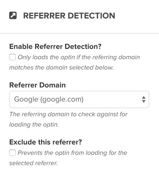 referrer detection