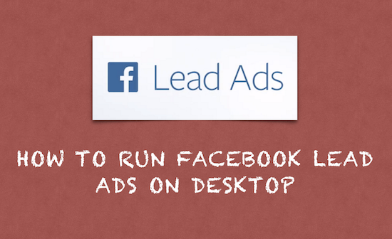 lead ads desktop