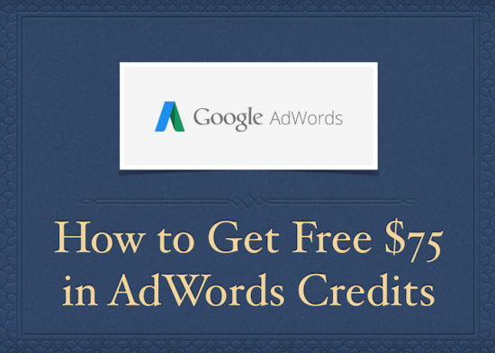 Free Advertising Credits in Google AdWords
