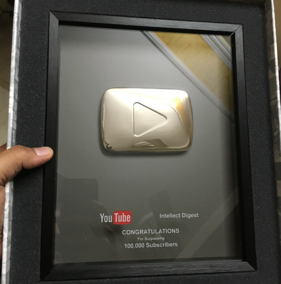 youtube award