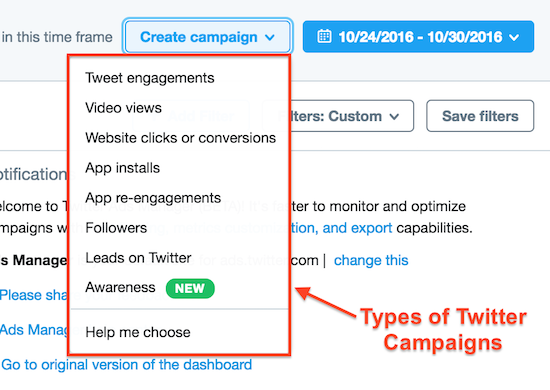 twitter-campaigns