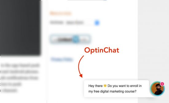 OptinChat Review: Collect Email IDs of Visitors with AI Chat